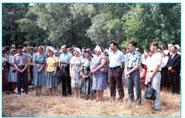18 июля 1992 года состоялось первое крещение.